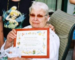 Mom at Reunion 2007