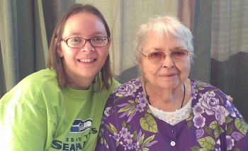 Jenny and Mom