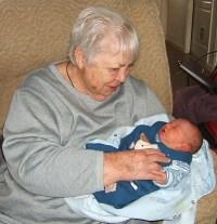 Mom and Espen 2005