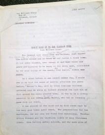 Joan's Original Manuscript