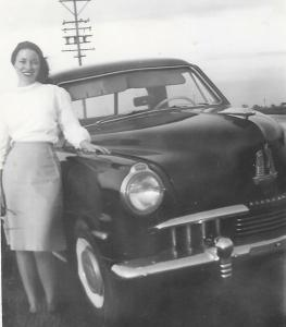 Here - Mom With Studebaker