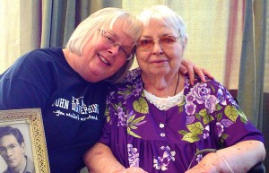 Mom and Laurie - October 2013